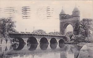 Connecticut Hartford Memorial Arch Bridge 1909