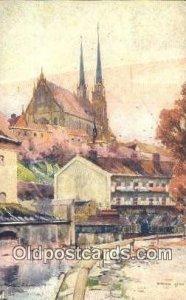 Artist Karel Cerny Postcard Post Card Old Vintage Antique Series # 2094 1922
