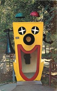 Rapid City South Dakota~Story Book Island~Clown Faced Giant Telephone~1960s PC