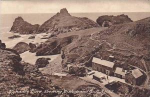 Showing Bishop & Gull Rocks, Kynance Cove (Cornwall), England, UK, 1900-1910s