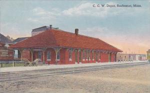 C G W Depot Rochester Minnesota 1919