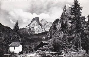 Austria Hinterbaerenbad mit Totenkirchl Real Photo