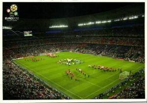 ukraine, DONETSK, Donbass Arena, Shakhtar (2013) Stadium Postcard Euro 2012