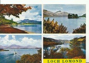 Scotland Postcard - Views of Loch Lomond - Dunbartonshire - Ref 12617A
