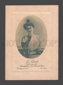 091629 ADVERTISING Lovely Lady w/ BISCUITS PERNOT vintage Card