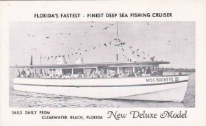 Florida Clearwater Beach Floeidas Fastest Finest Deep Sea Fishing Cruiser Sai...