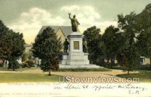 Monument Square Fitchburg MA Unused