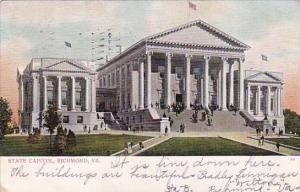 Virginia Richmond Stae Capitol 1908