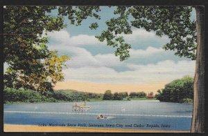 Swimming At Lake Macbride State Park North Liberty Iowa Unused c1946