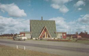 Park entrance to the beautiful Fundy Park, New Brunswick, Canada, 40-60s