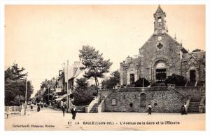 la Baule   L'Avenue de la Gare et la Chapelle