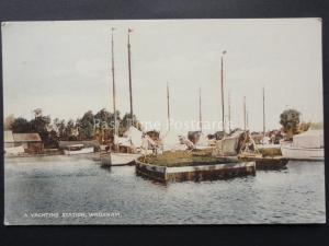 Norfolk WROXHAM A Yachting Station - Old Postcard