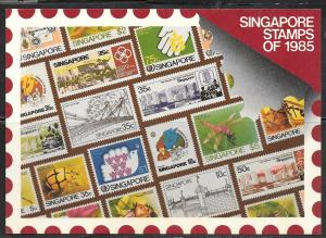 Singapore stamps of 1985, unused