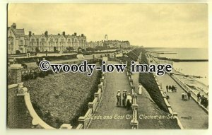 tp0622 - Essex - The Sands and East Cliff c1917, at Clacton-on-Sea - postcard