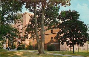 Springfield MA~College~Gymnasium~Judd Gym~McCurdy Natatorium~1964 Postcard