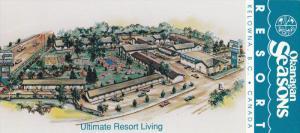 Okanagan Seasons Resort, Swimming Pool, Swings, Restaurant, Map on the Back, ...