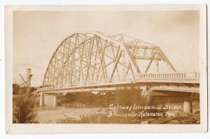 RPPC, International Bridge, Brownsville - Hatamoros MEx