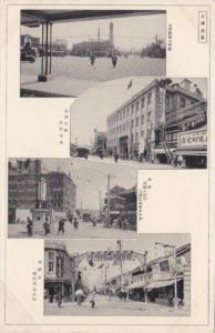 Japan Tokyo Various Street Scene