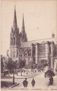 France Clermont Ferrand La Cathedrale
