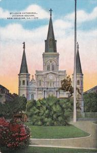 Louisiana New Orleans St Louis Cathedral Jackson Square