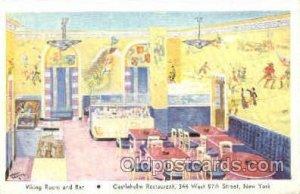 Castleholm Restaurant New York, USA Postcard Post Cards Old Vintage Antique U...