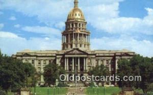 Denver, Colorado, CO State Capital, Capitals Postcard Post Card USA  Denver, ...