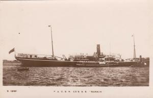 RP: P. & O. Line Ocean Liner NANKIN , 00-10s
