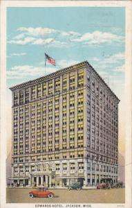 Mississippi Jackson Edwards Hotel 1936