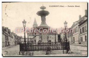 Old Postcard Clermont Fontaine Mass