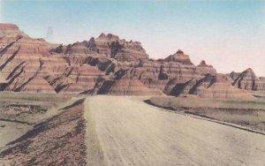 South Dakota Wall Prehistoric Graveyard Fossil Beds The Badlands National Mon...