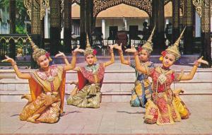 Thailand Bangkok Down Doong Dance Thai Classical Dance