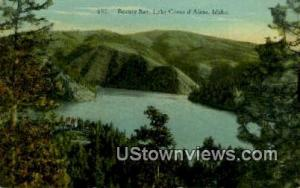 Beauty Bay Lake Coeur d'Alene ID 1932