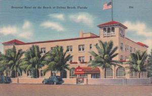 Florida Delray Beach Seacrest Hotel 1954