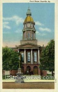 Court House, Danville Danville KY Unused