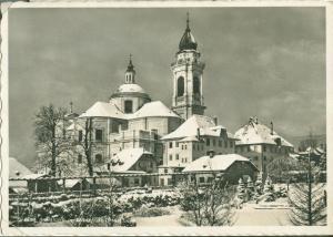 Switzerland, Suisse, Solothurn im Winter, St. Ursuskirche