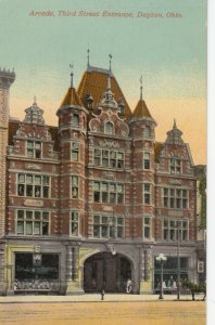 DAYTON , Ohio, 1900-10s ; Arcade , Third Street Entrance
