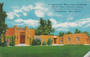In Typical New Mexico Style Architecture Monte Vista Christian Church Albuqer...