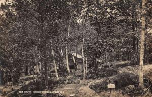 Antrim New Hampshire The Grove Scenic Real Photo Antique Postcard K22534
