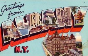 1960 GREETINGS FROM ALBANY, N.Y.