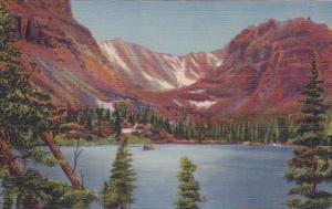 Colorado Rocky Mountain National Park Loch Vale