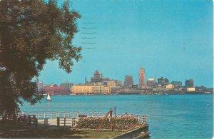 1966 Toronto Canada Skyline as Seen from Centre Island