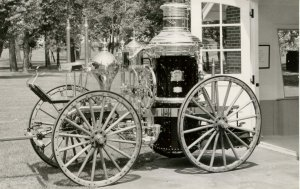 OH - Dayton. Steam Fire Engine built in 1883   *RPPC