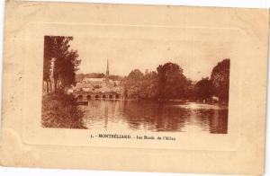 CPA MONTBÉLIARD - Les Bords de l'Allan (183059)
