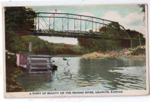 Neosho River, Chanute KS