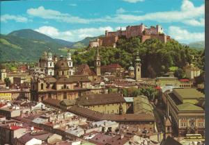 Postcard c1989 The Festival City of SALZBURG Austria