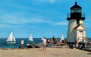 MA - Nantucket. Brant Point Lighthouse