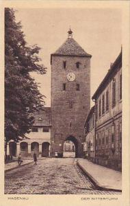 Der Ritterturm, Hagenau, Alsace, France,10-20s