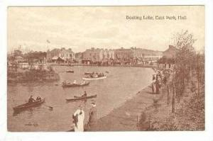Boating Lake, East Park, Hull, England, UK, 00-10s