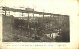 Elevated Road Jersey City NJ 1905