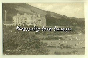 tp0317 - Cumbria - Early View of the Keswick Hotel and Grounds - postcard